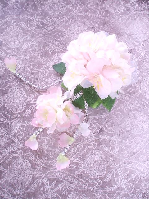 桜コサージュ